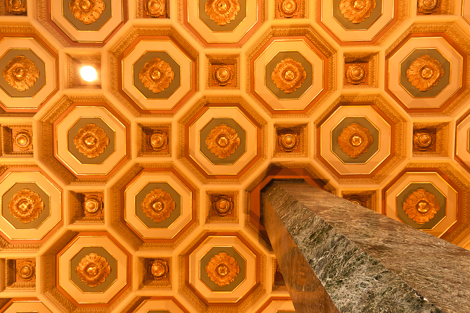 One Bunker Hill Ceiling