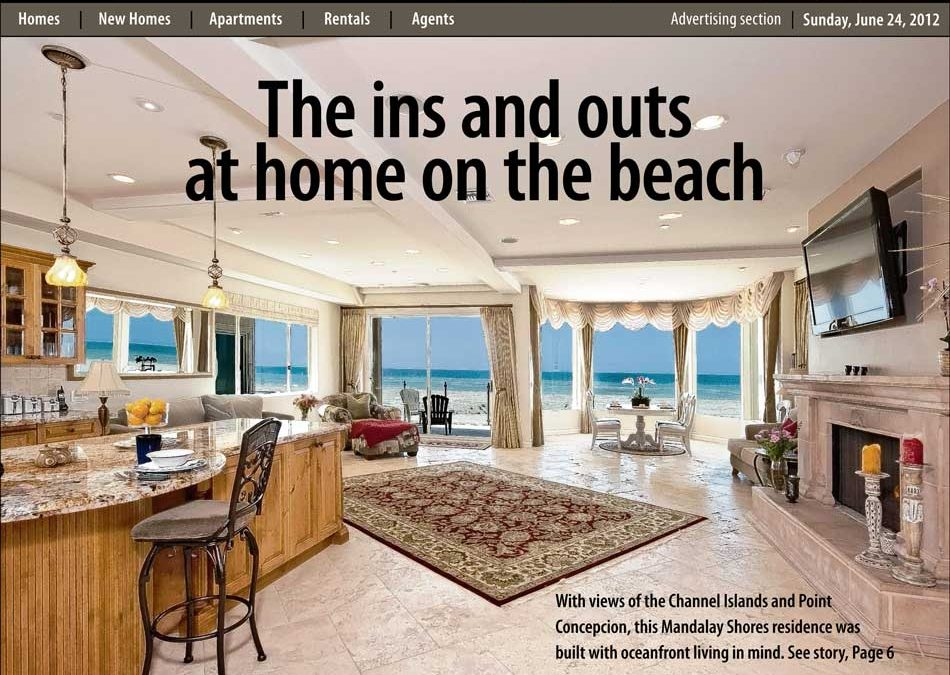Ventura County Star Cover for 1061 Mandalay Beach | June 24, 2012