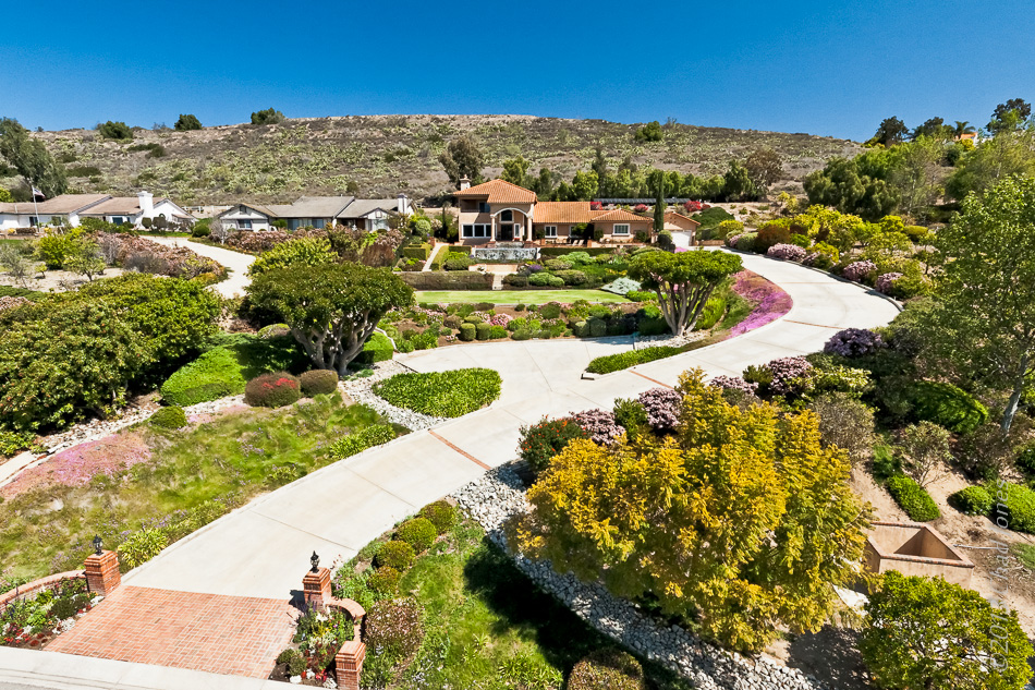 Camarillo Hillside Home Aerial