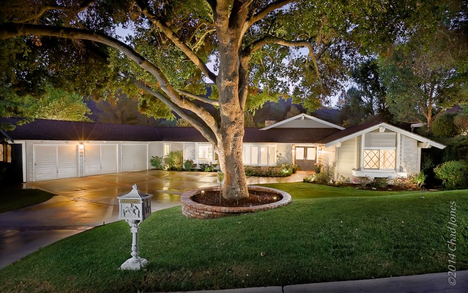 North Ranch in Westlake Village Exterior Twilight
