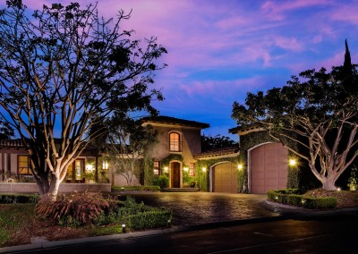 Somis Saticoy Country Club Estate Twilight