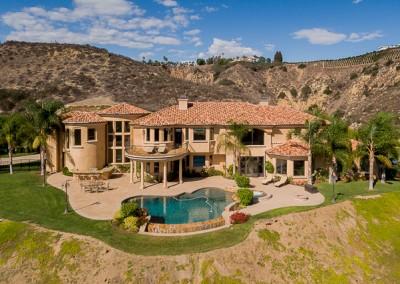 Santa Rosa Estate Drone Photography