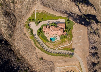 Santa Rosa Estate Drone Photography