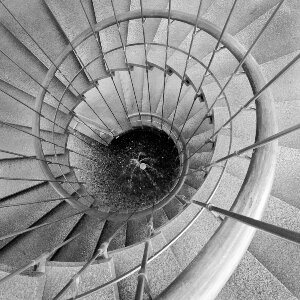 DWP Headquarters Los Angeles Staircase