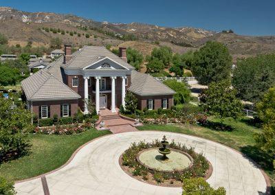 Solano Verde Somis California Estate Aerial