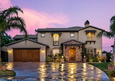 Granada Hills Twilight Real Estate Photography